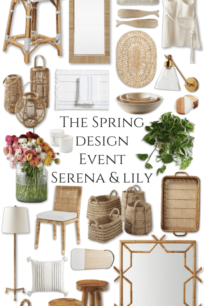The Spring Design Event by Serena & Lily | 20% off Everything