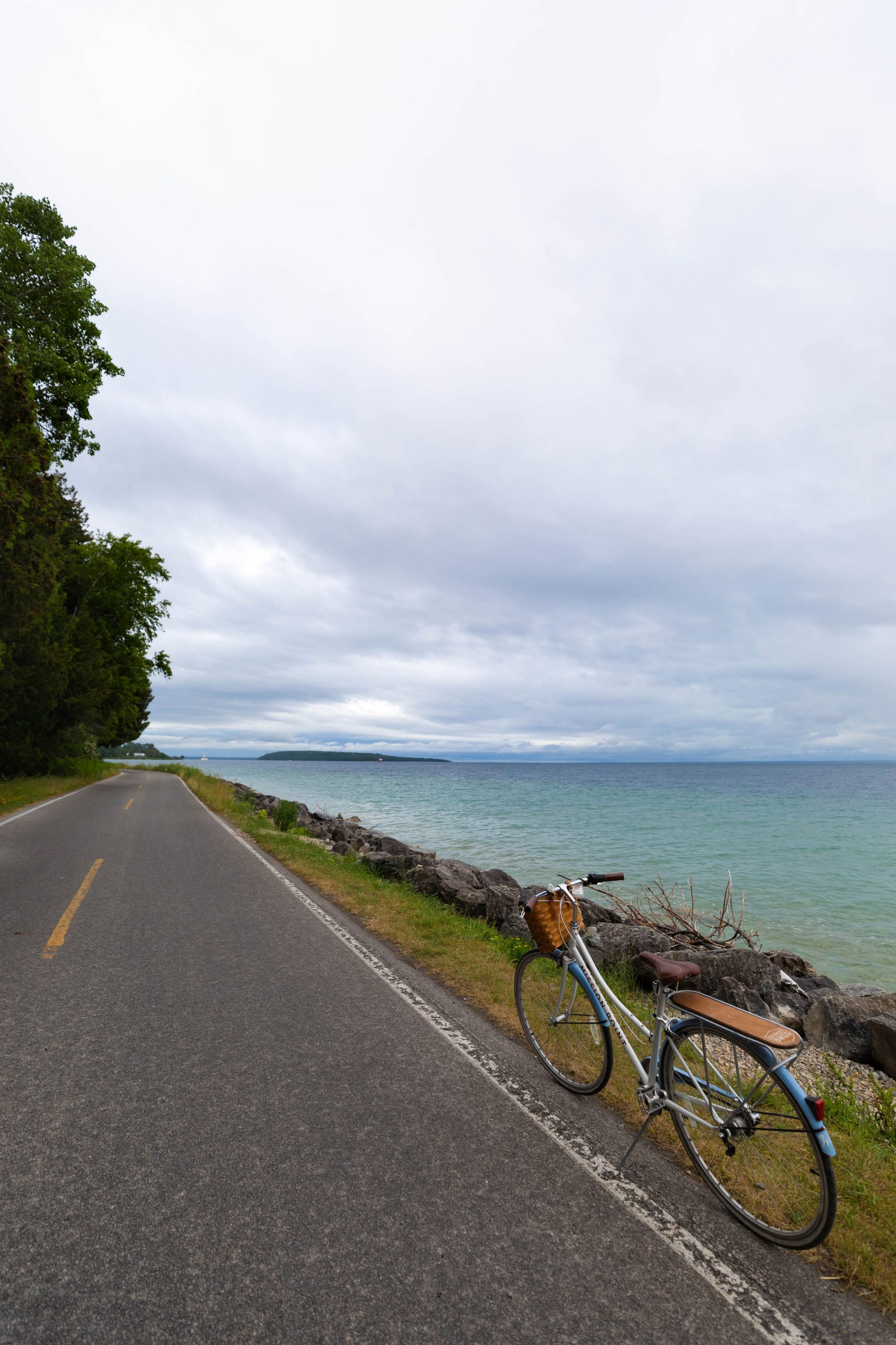 Riding Bikes Around Mackinac Island by @AnnieFairfax