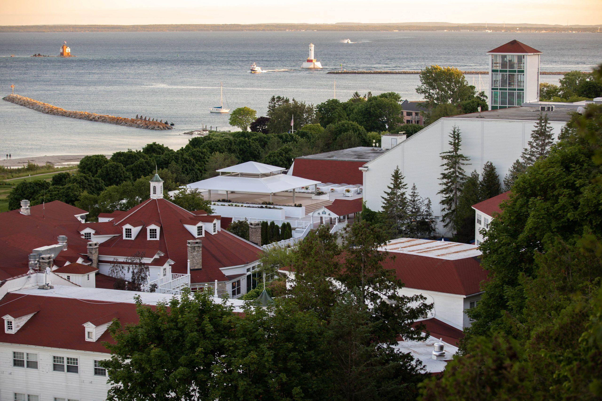 Mission Point Resort on Mackinac Island Michigan by Annie Fairfax
