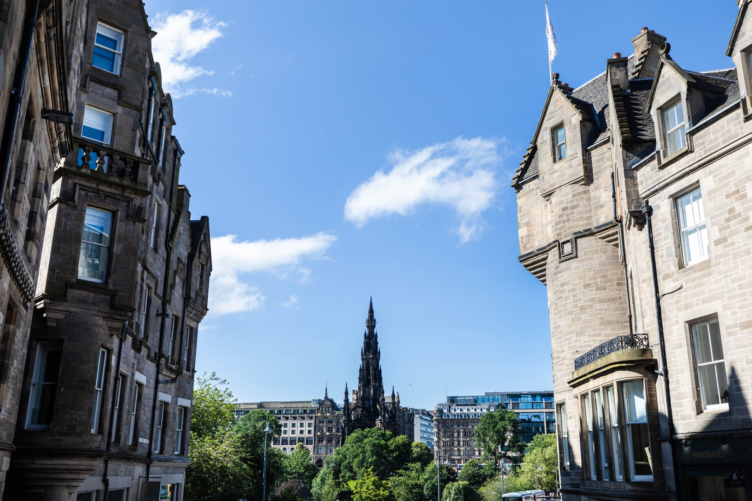 Scott Monument on the Hill Luxury Travel Guide Scotland by Annie Fairfax