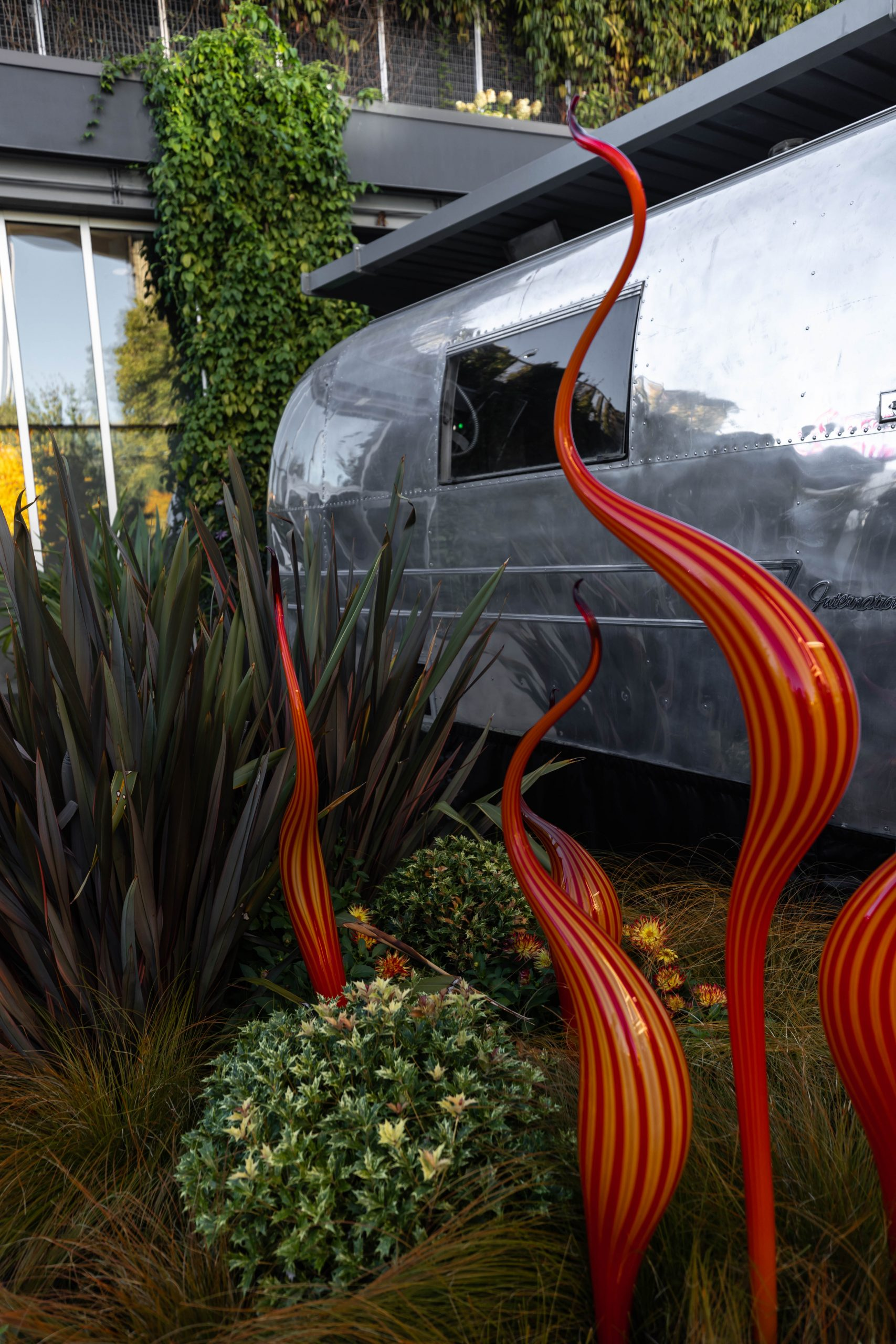 The Chihuly Garden & Glass Museum in Seattle Washington by Annie Fairfax