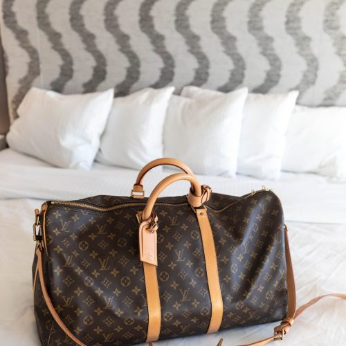 Louis Vuitton Keepall Bandoulière 55 Monogram Duffle Bag Review