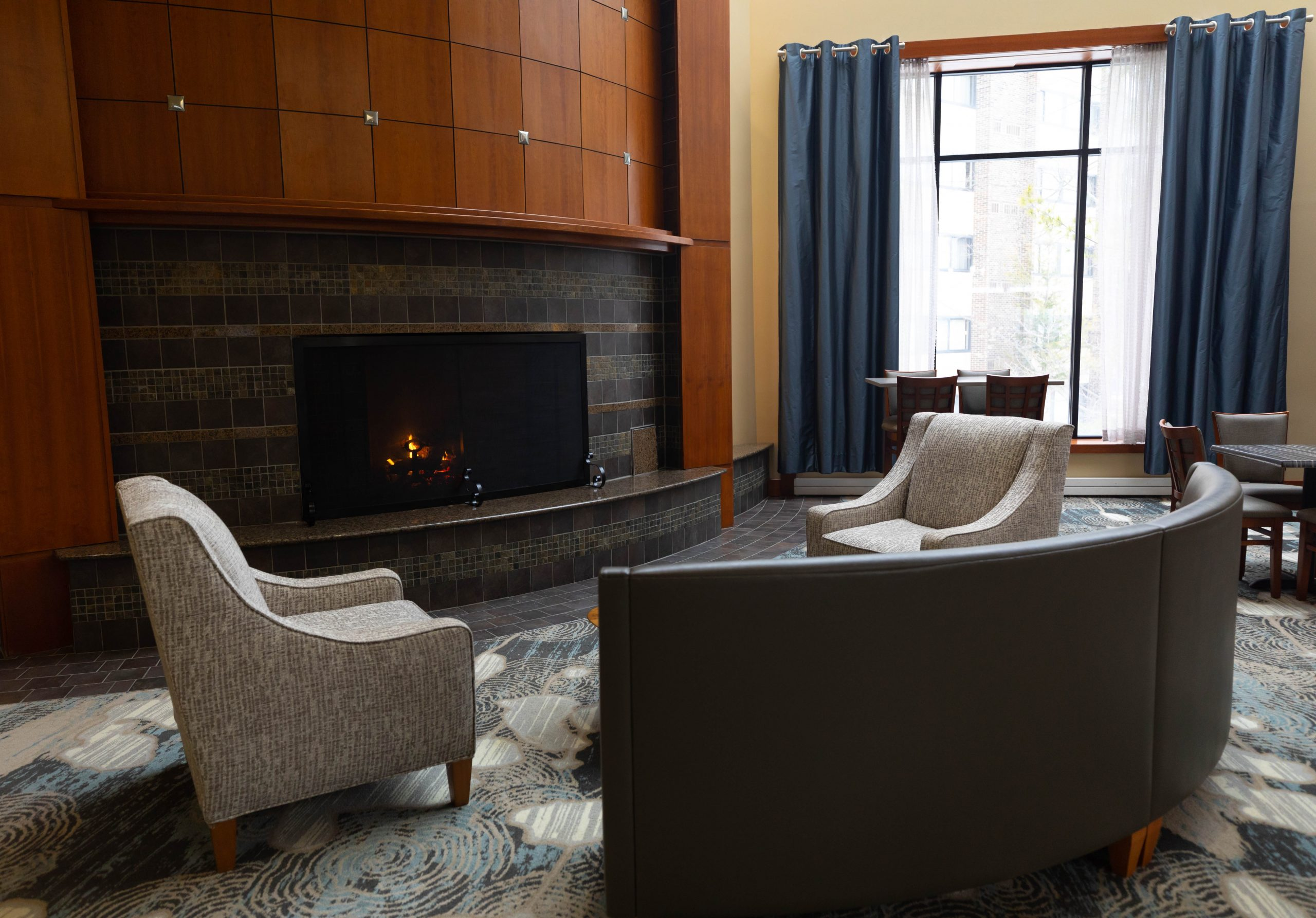 Lounge at Grand Traverse Resort & Spa in Acme Traverse City Michigan Photographed by Annie Fairfax
