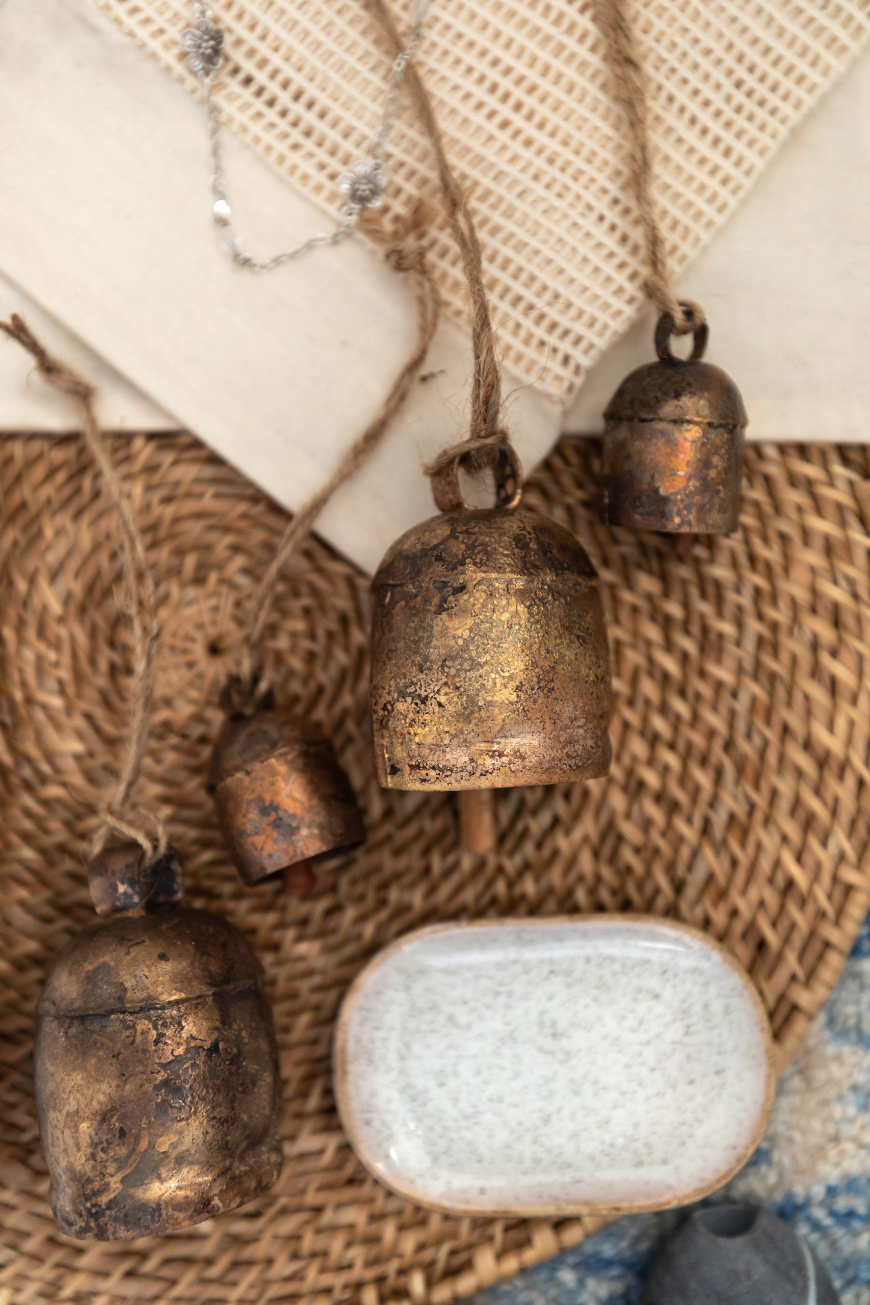 Handmade in India NM Nana Bells Recent Acquisitions from Northern Michigan Small Businesses by Annie Fairfax