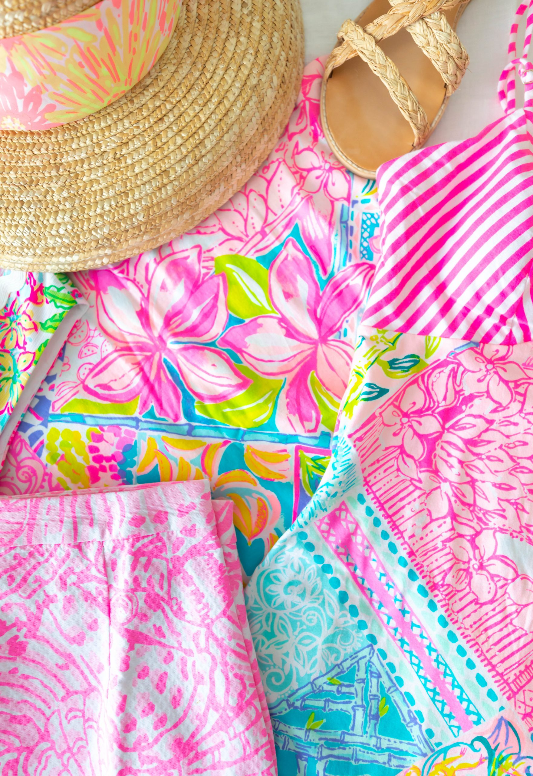 Lilly Pulitzer Paradise Found Mila Shift Dress Preppy Feminine Fun Colorful Clothing Palm Beach What I Bought in the Lilly Pulitzer After Party Sale My Lilly Pulitzer Sale Haul by Annie Fairfax