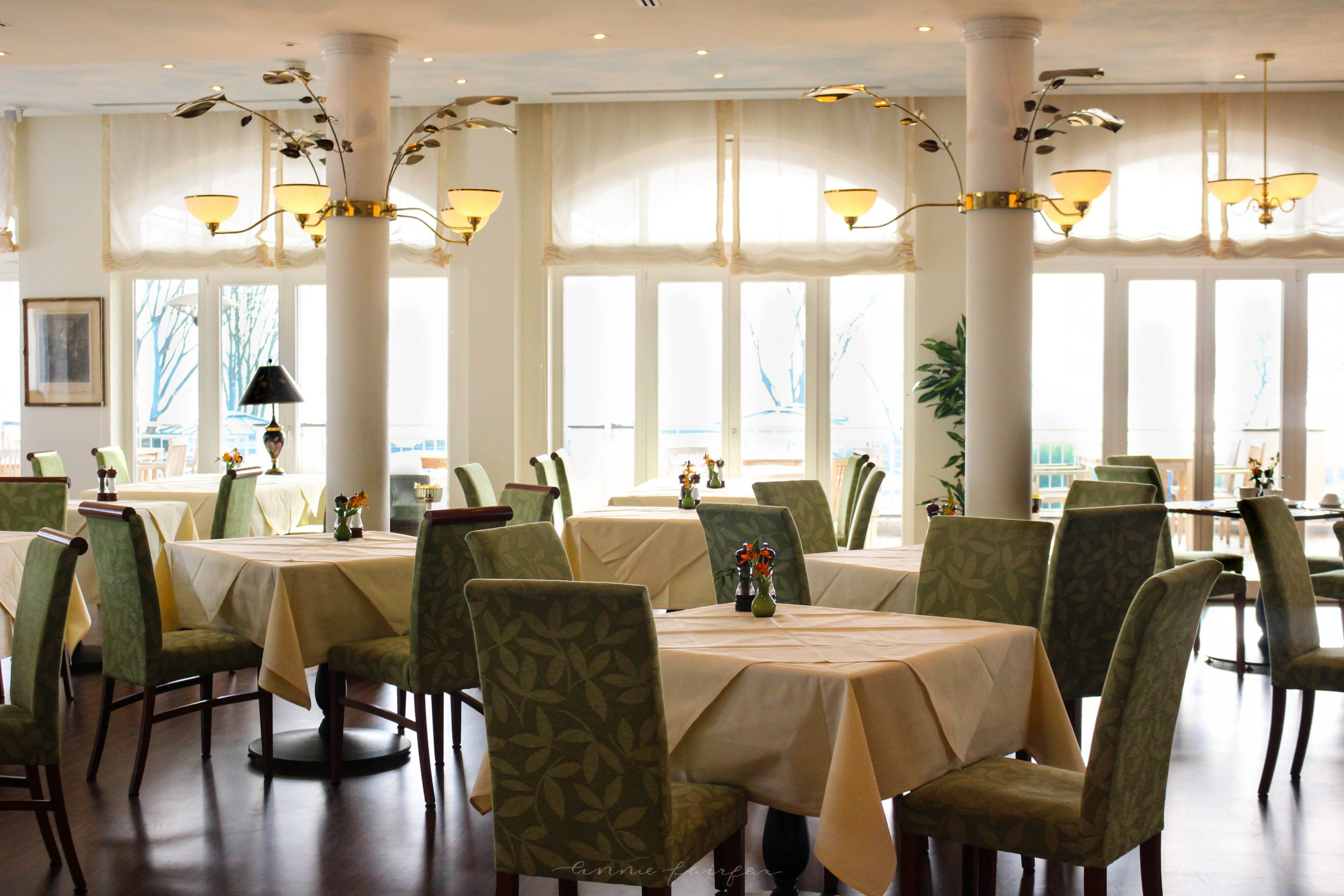 Dining at Resort Schwielosee Luxury Hotels and Resorts of the World in Berlin Werder Germany