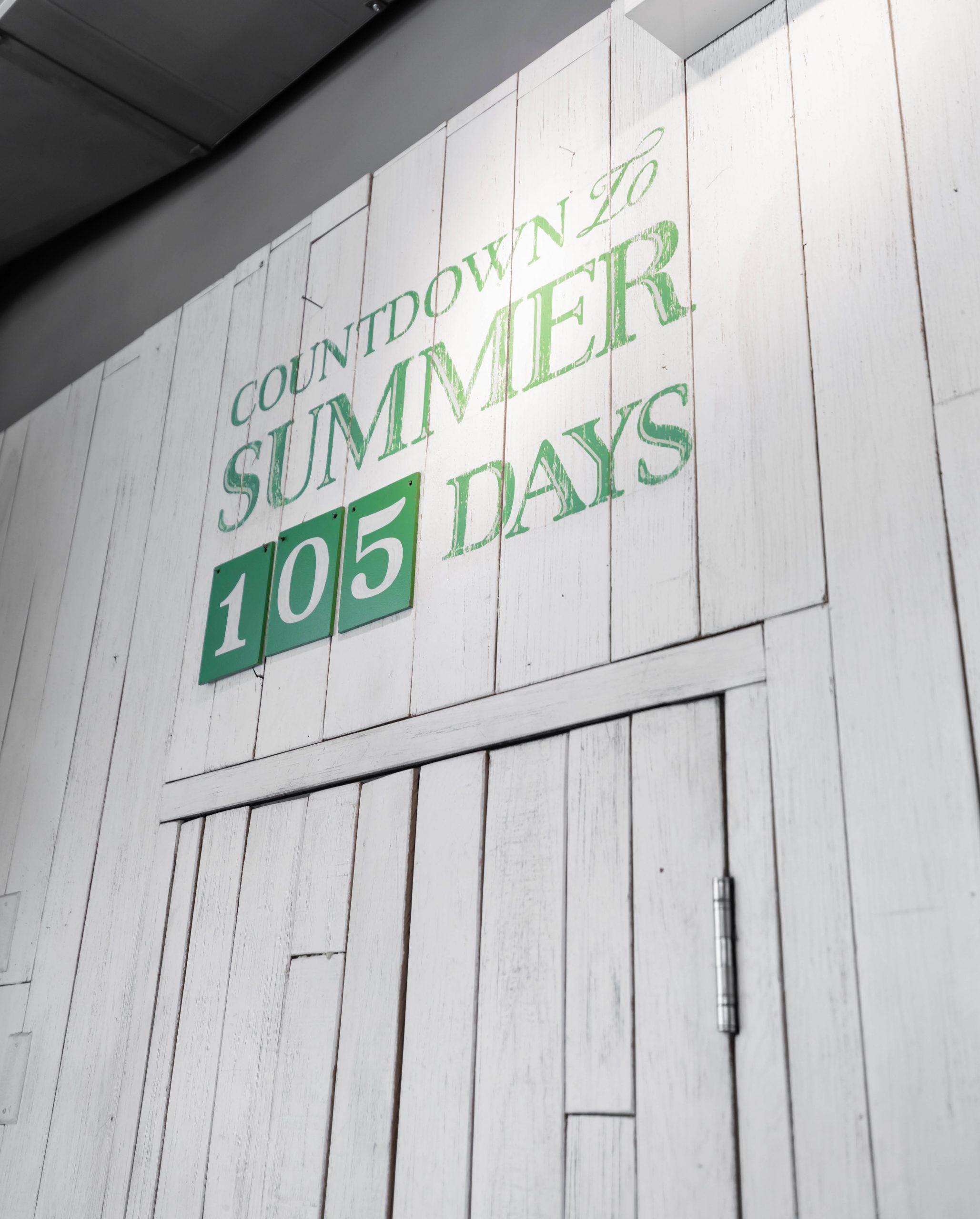 Countdown Until Summer Summer House Santa Monica Vegan Friendly Gluten Free Restaurant in Chicago, Illinois Gold Coast by Annie Fairfax