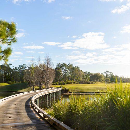 Golfing at Waldorf Astoria Orlando Golf Club