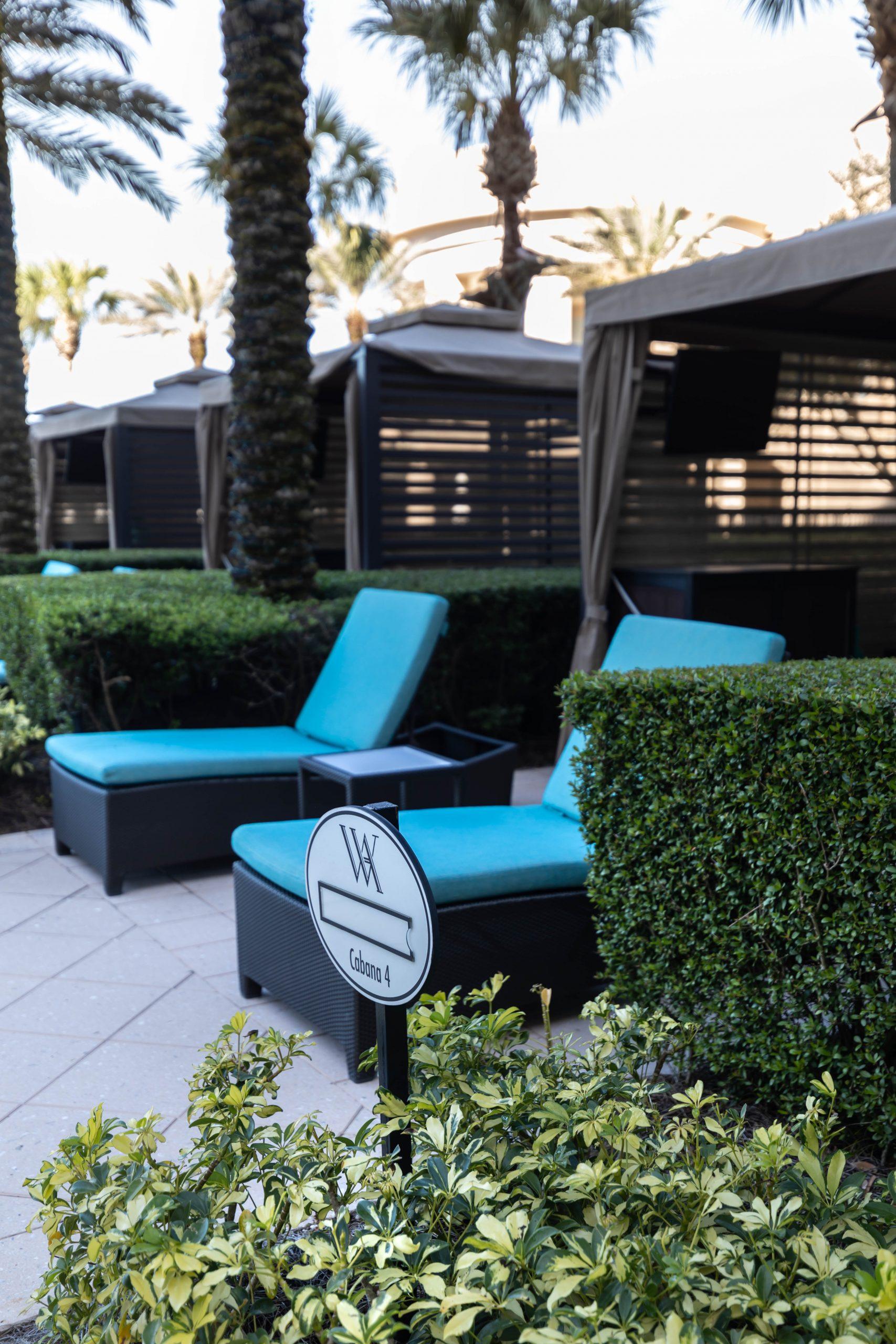 Waldorf Astoria Pool Deck in Orlando Florida by Annie Fairfax