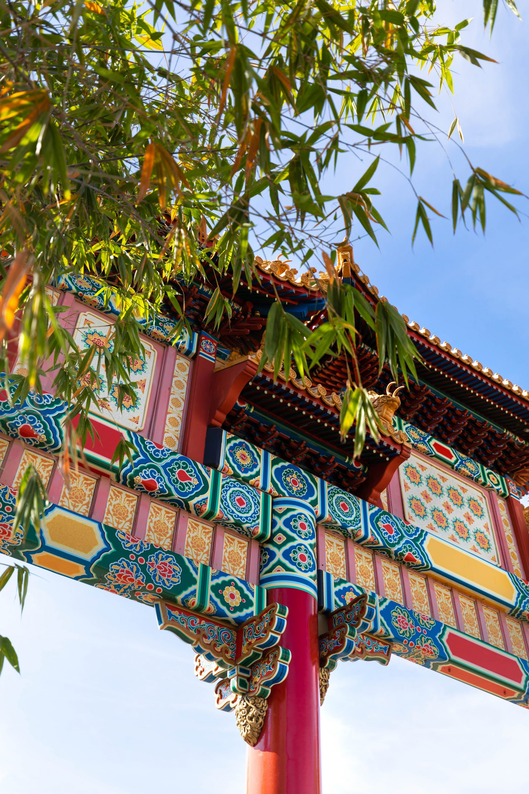 Temple of Heaven's Main Gate in Beijing China at Epcot Walt Disney World by Luxury Travel Writer and Photographer Annie Fairfax