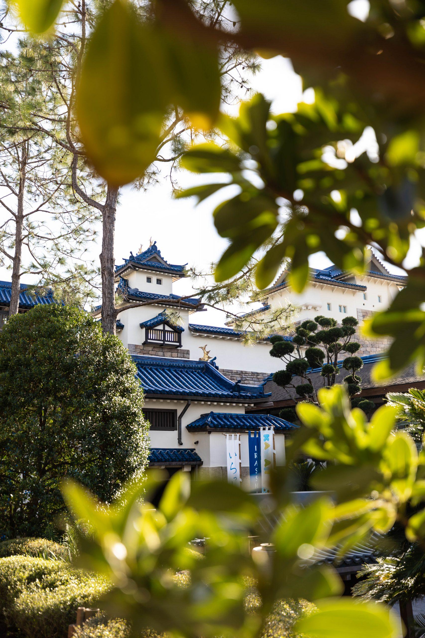 White Heron Castle Gate Japan Epcot Walt Disney World by Luxury Travel Writer and Photographer Annie Fairfax
