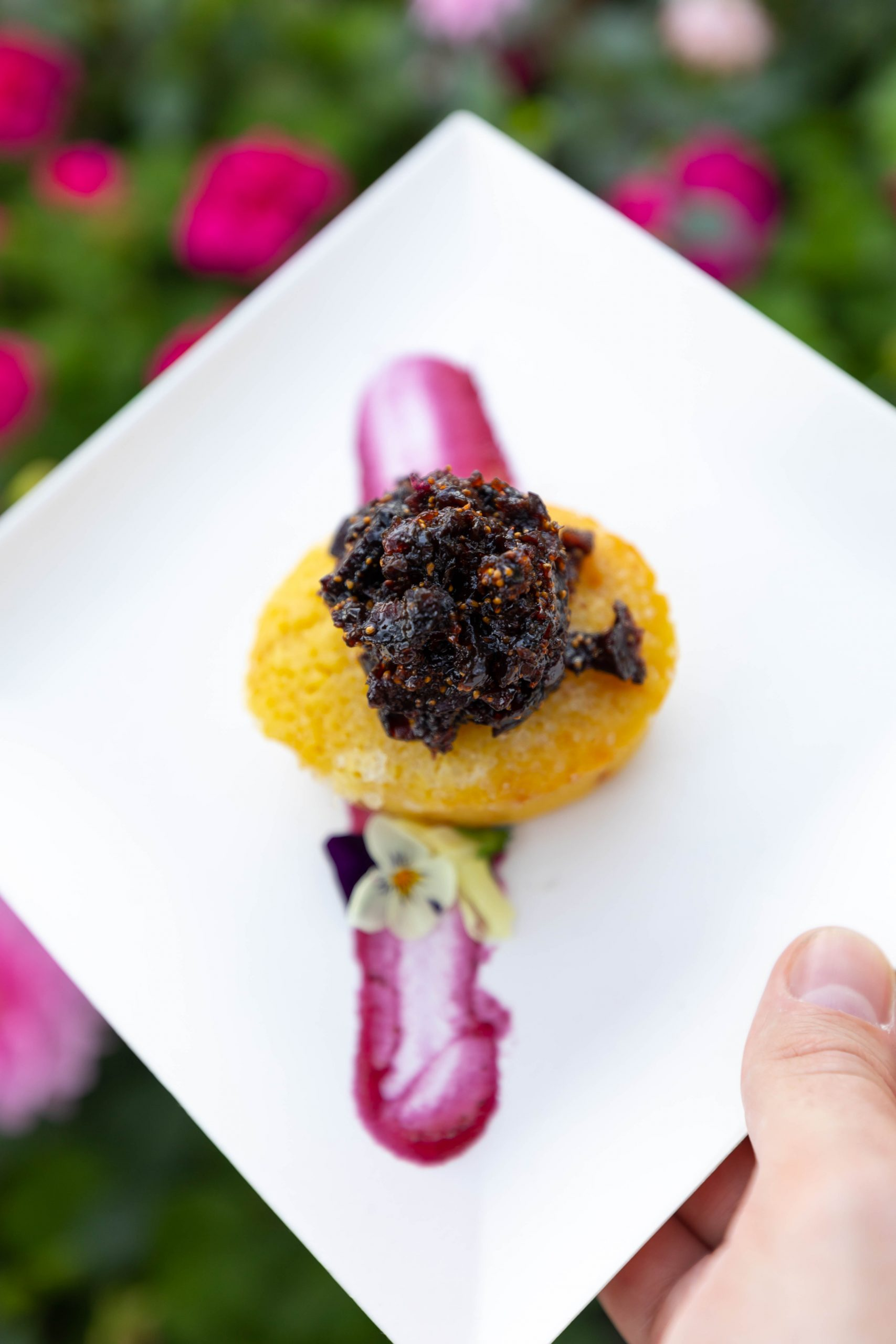 Lemon Magdalena Cake at Morocco Inside Epcot World Showcase Epcot International Flower & Garden Festival by Annie Fairfax
