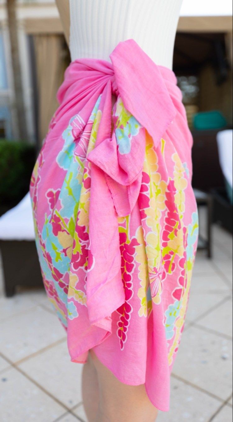 The Prettiest Lilly Pulitzer Pareo & How I Buy My Clothing Secondhand