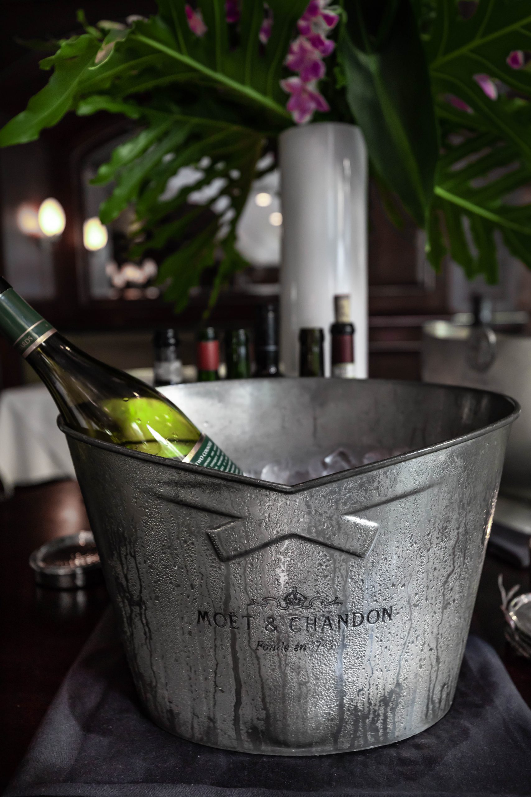 Drinks at Charleston Grill Inside Belmond Charleston Place Written and Photographed by Annie Fairfax