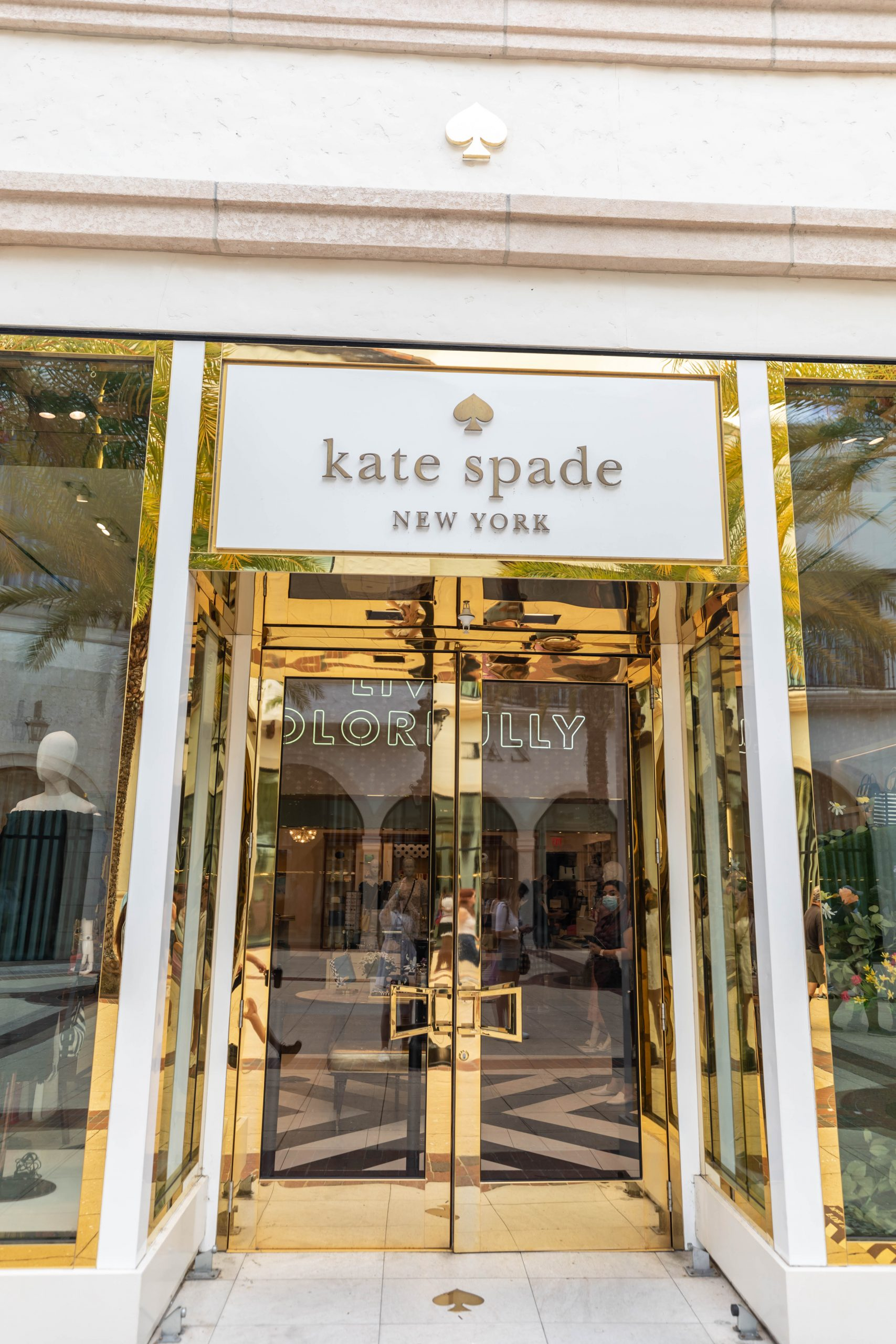Shopping at Disney Springs Walt Disney World Kate Spade Store Photographed by Annie Fairfax