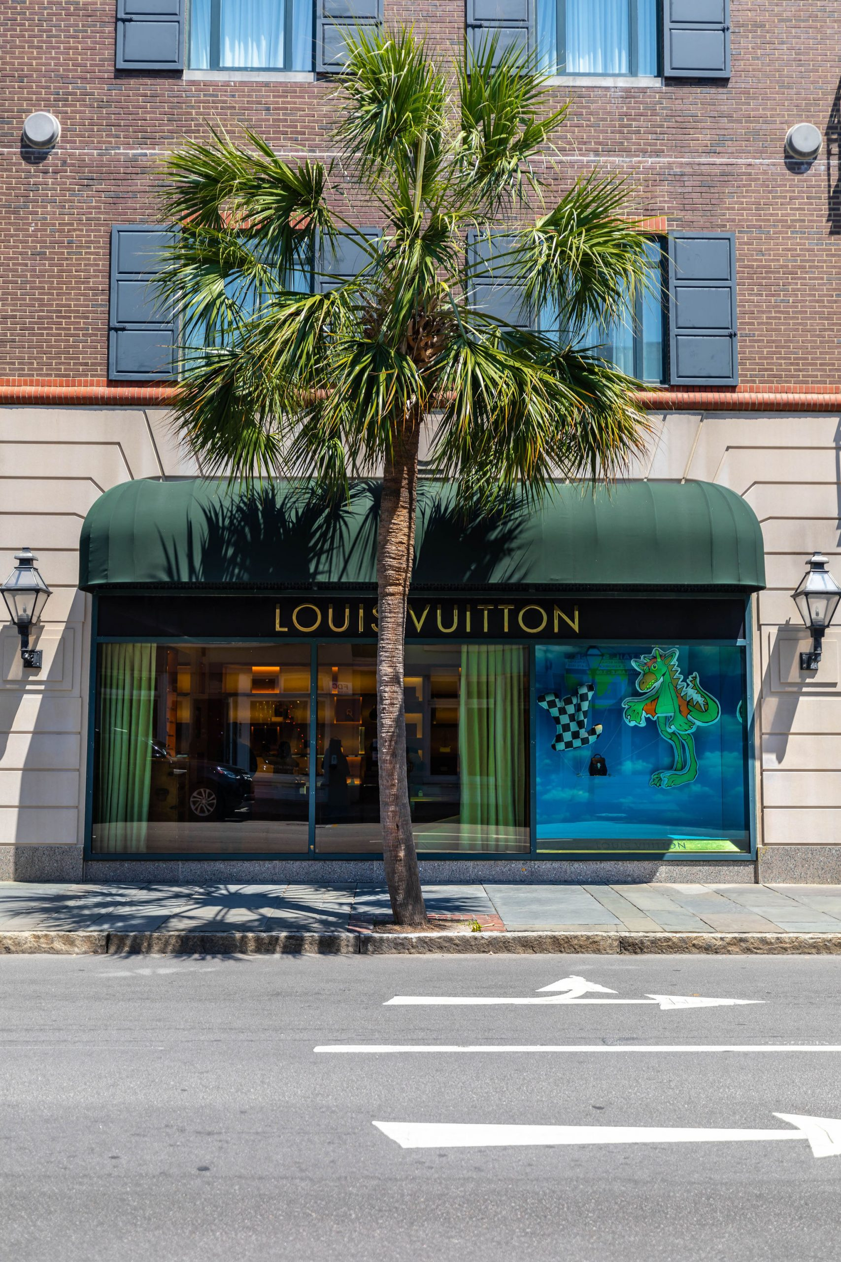 Louis Vuitton Store in Charleston South Carolina Inside Belmond Charleston Place Luxury Hotel Photographed by Luxury Travel and Lifestyle Writer and Photographer Annie Fairfax