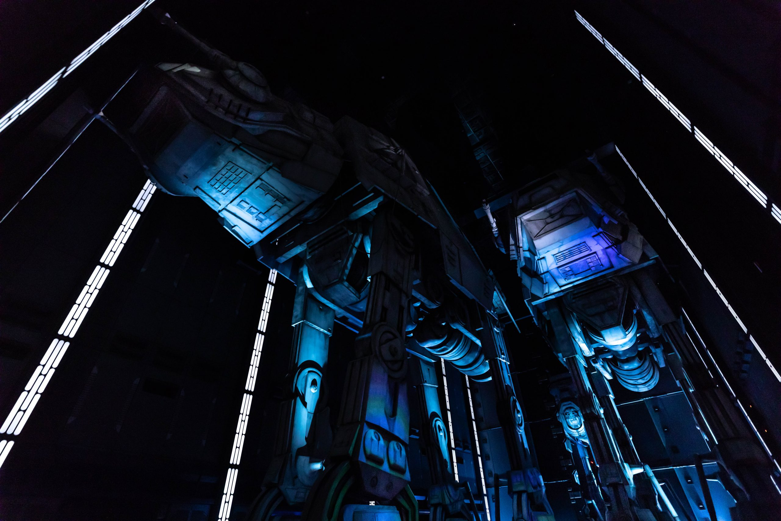 Rise of the Resistance Ride at Galaxy's Edge in Hollywood Studios at Walt Disney World Photographed by Annie Fairfax