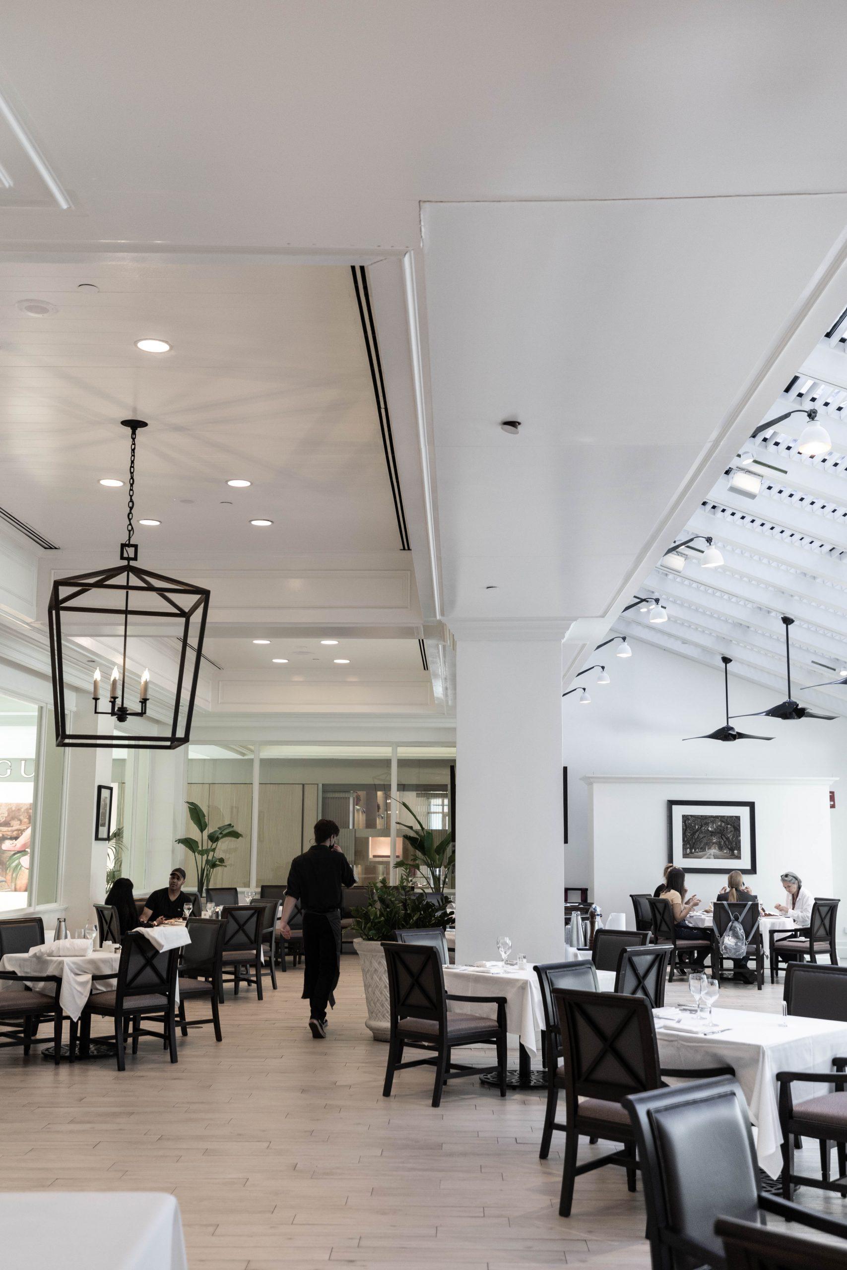 Palmetto Café Inside Belmond Charleston Place Luxury Hotel Written & Photographed by Annie Fairfax