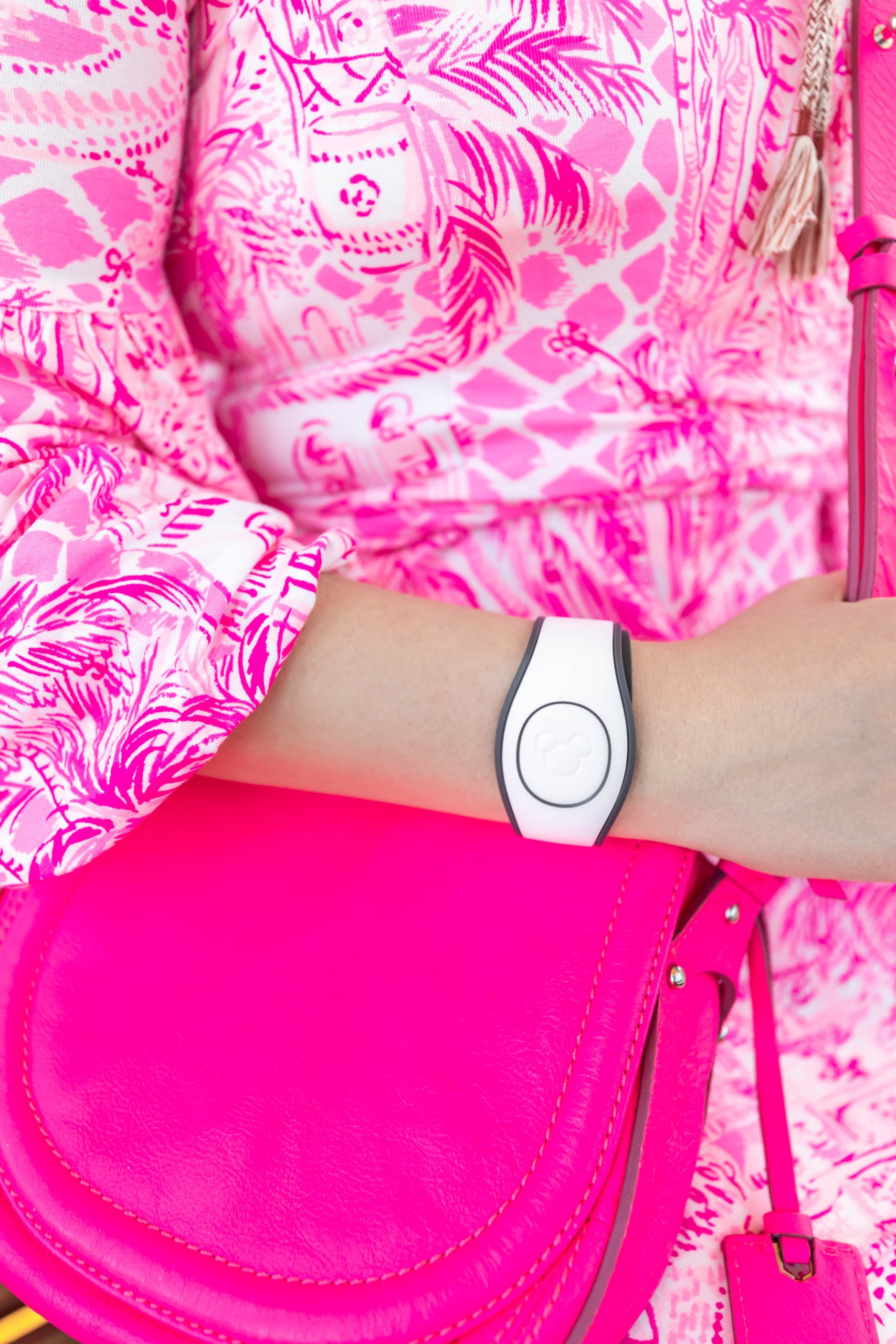 Lilly Pulitzer at Walt Disney World MagicBands and Alexander McQueen by Annie Fairfax