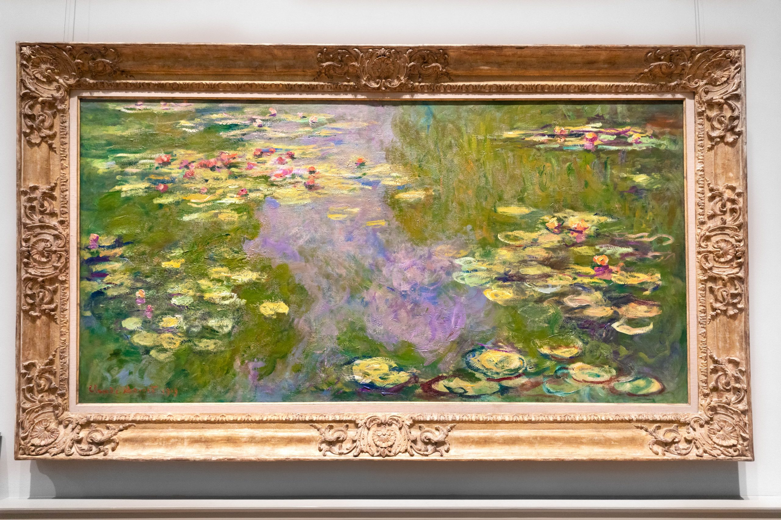 Water Lillies by Claude Monet The Metropolitan Museum of Art The Met in New York City New York Photographed by Annie Fairfax