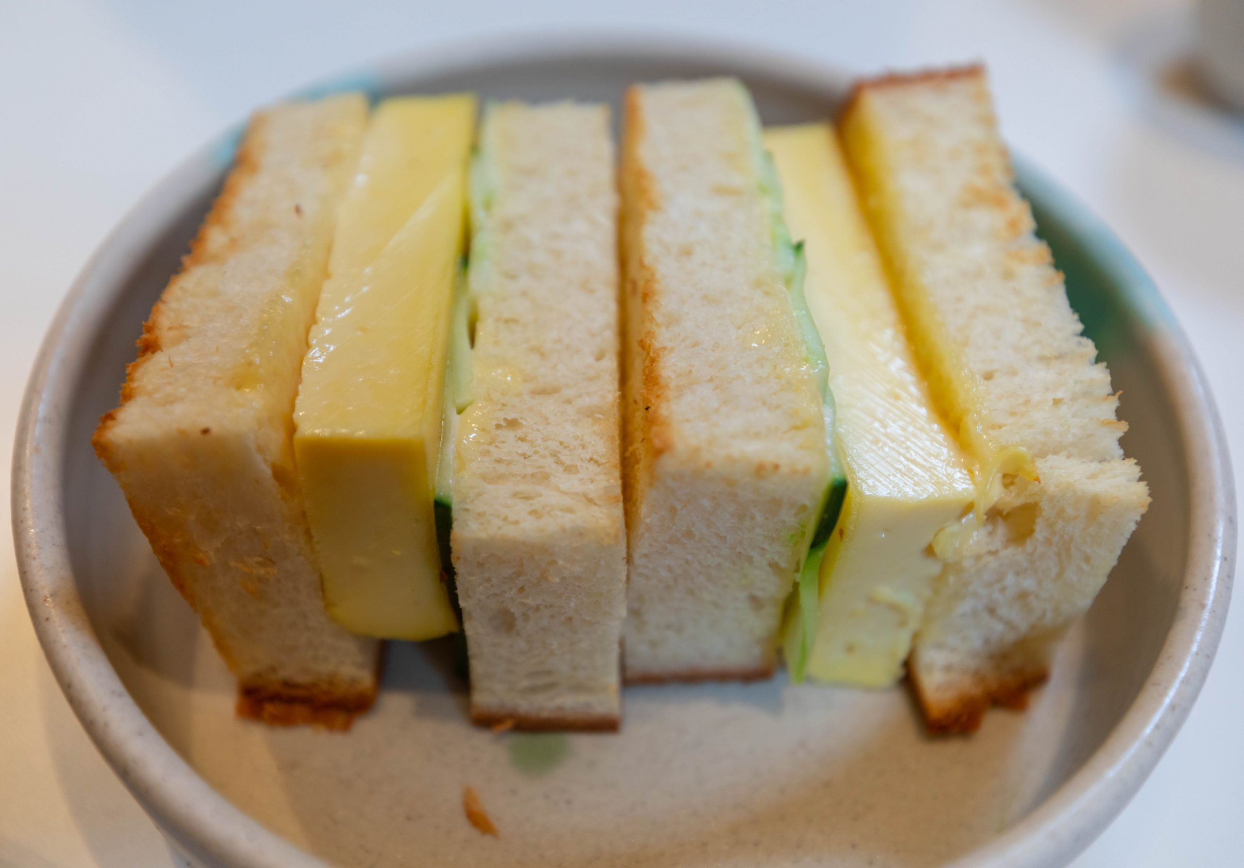 Tamago Sando Japanese Egg Salad Sandwich at Rule of Thirds Brooklyn Japanese Food in New York City NYC Fine Dining Asian Cuisine Luxury Restaurants of the World Written and Photographed by Annie Fairfax