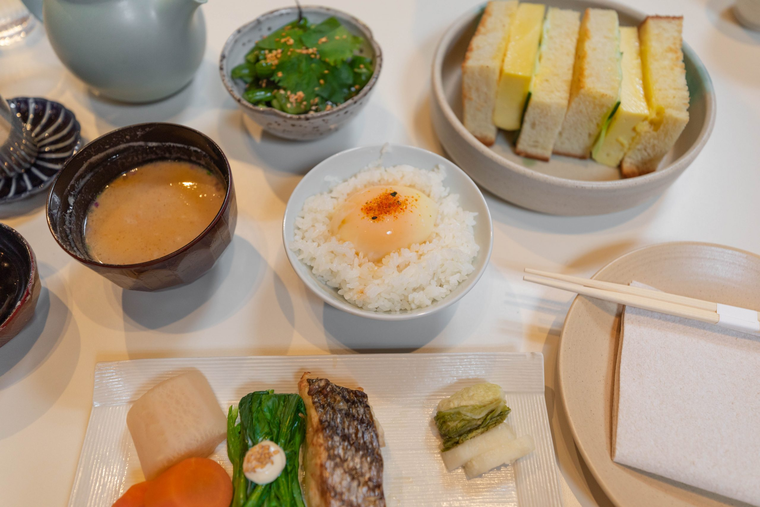 Rule of Thirds Brooklyn Japanese Food Breakfast Set in New York City NYC Fine Dining Asian Cuisine Luxury Restaurants of the World Written and Photographed by Annie Fairfax