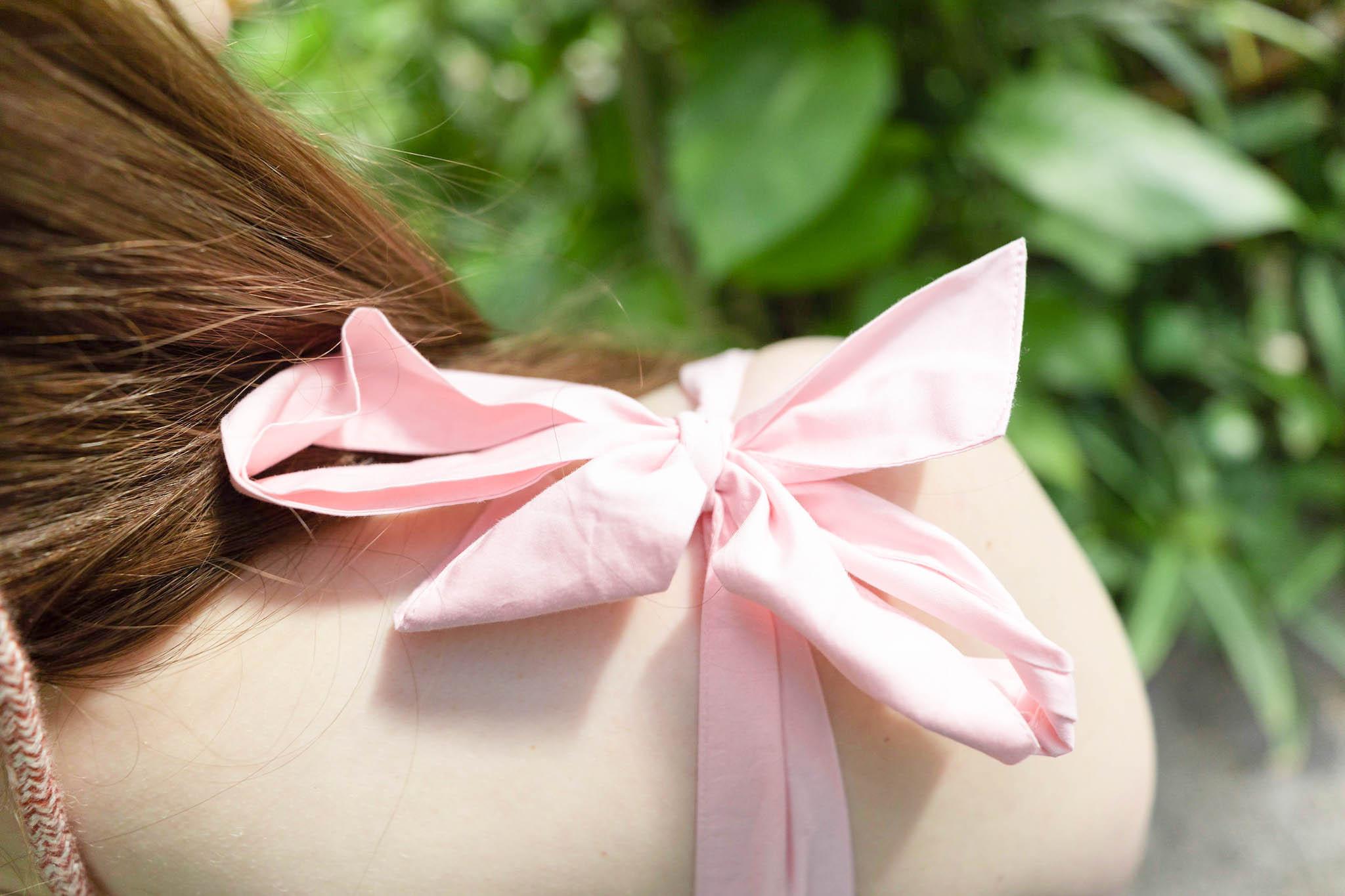 Peachy Pink Summer Dress Juliet Dunn Worn and Styled by Annie Fairfax