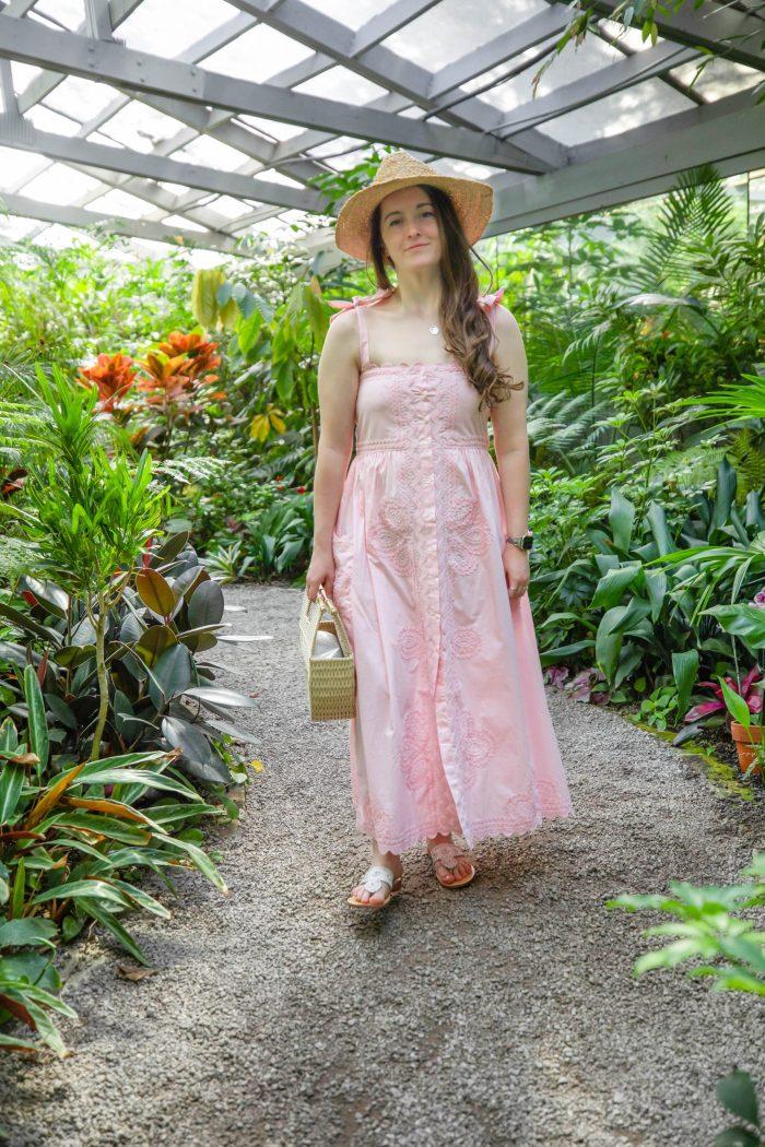 Peachy Pink Summer Dress