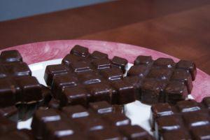 Fondant au chocolat-marrons sans cuisson
