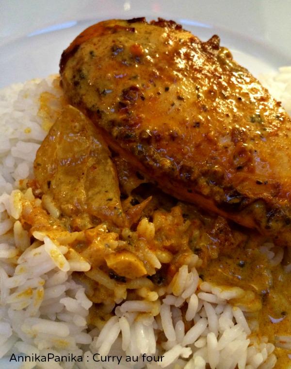 Curry au four