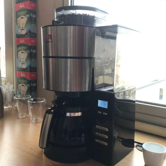 Café filtre avec café en grain