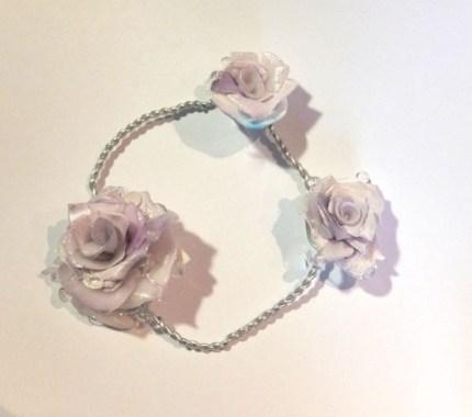 Violet Rose Bracelet