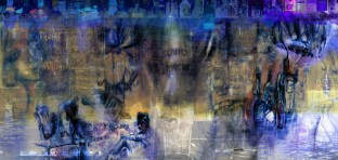 "Colston Street Mural for Bar ""The Urban Wood"""