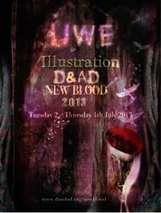 D&AD Illustration Invitation