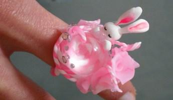 Bunny wonderworld ring