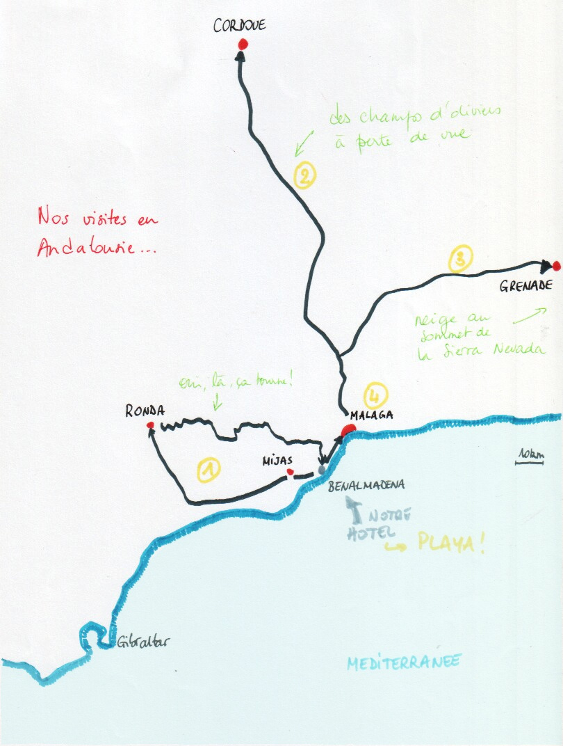 andalousiemap