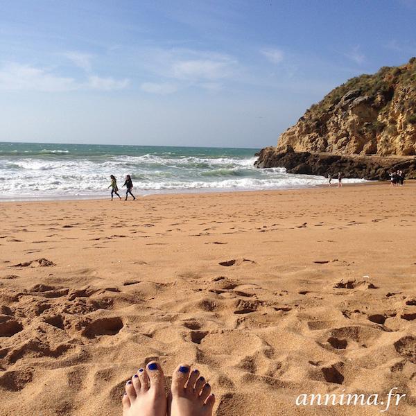 beach plage algarve