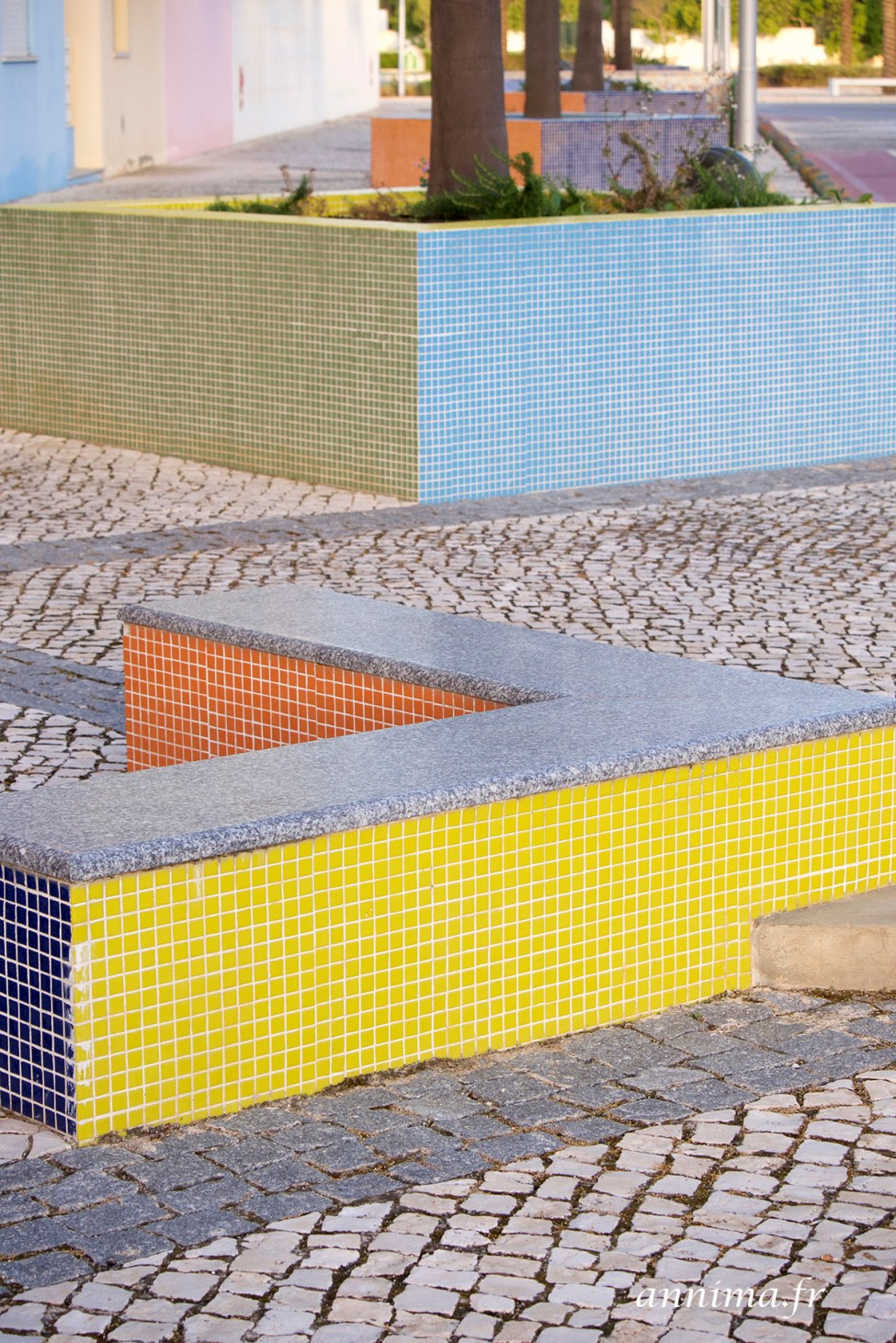 abstraction color albufeira algarve portugal