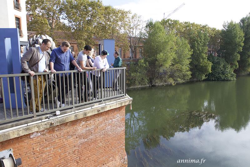 Tourisme industriel - Bazacle Toulouse -EDF