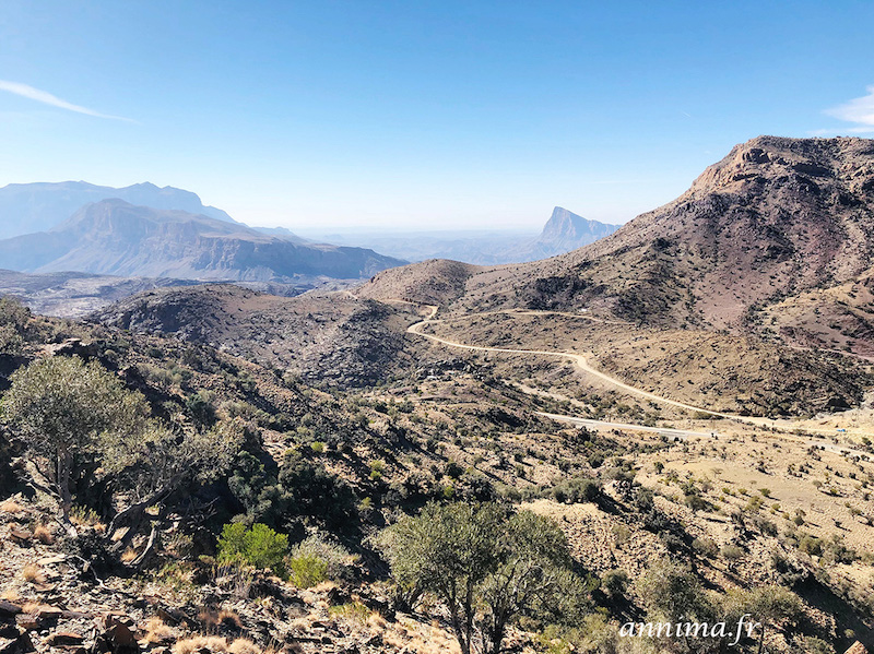 Djebel Shams : le grand canyon du Moyen Orient