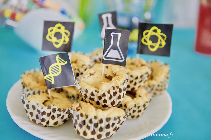 Un anniversaire scientifique – sciences en folie ! crazy scientist