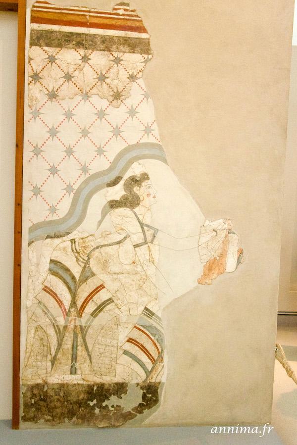 Santorin antique: Ancienne Thira et les musées.