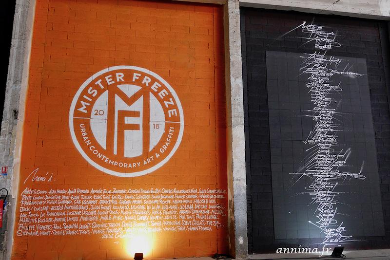 L'exposition Mister Freeze 2018 refait le mur !
