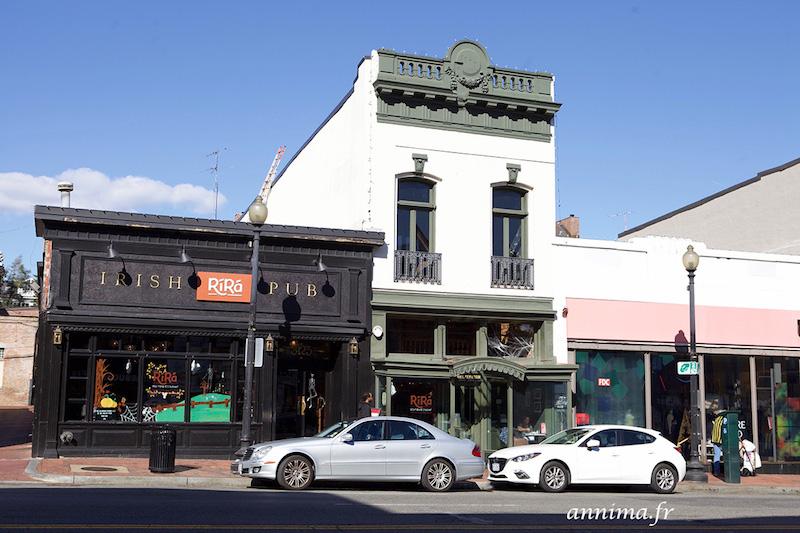 Georgetown, le ravissant quartier historique de Washington.