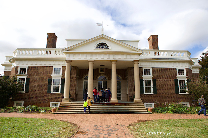 USA : Monticello, la demeure de Thomas Jefferson
