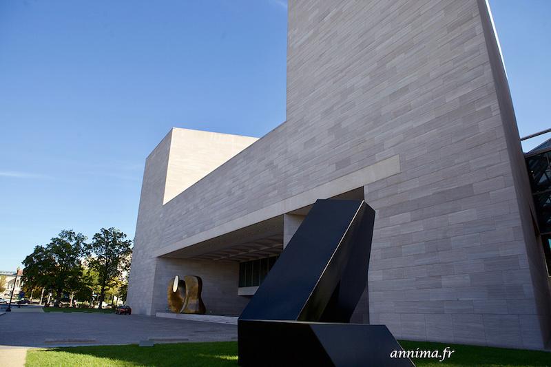 Washington : Les muséums et le jardin des sculptures.