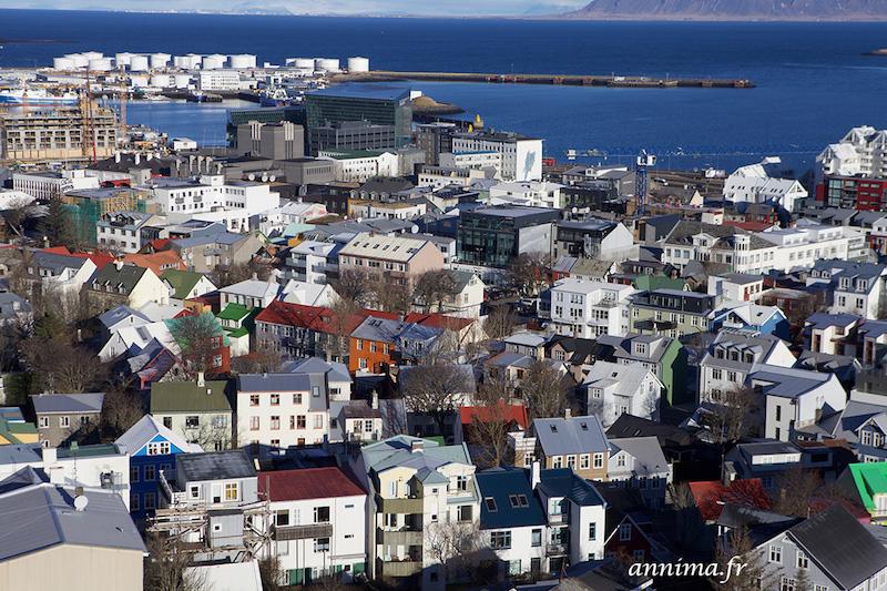 Reykjavik par tous les temps.