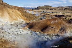 solfatare islande