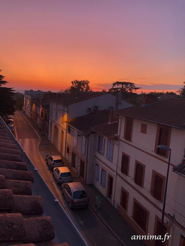 coucher de soleil toulouse
