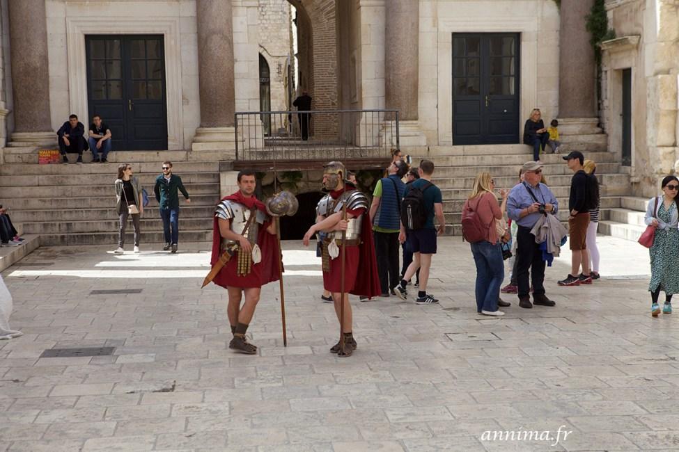 Split et son Palais de Dioclétien